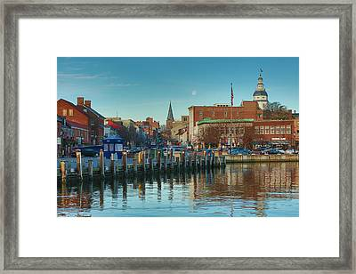 Good Morning Downtown Framed Print