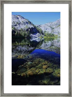 Framed Print featuring the photograph Good Morning Eagle Lake by Sean Sarsfield