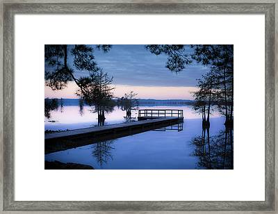 Good Morning For Fishing Framed Print