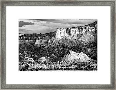 Good Morning Ghost Ranch - Abiquiu New Mexico Framed Print by Silvio Ligutti
