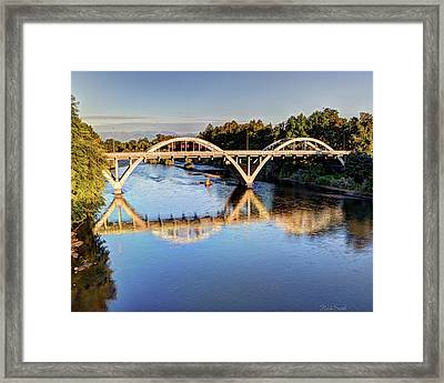 Good Morning Grants Pass II Framed Print by Heidi Smith