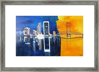 Good Morning Jacksonville Framed Print