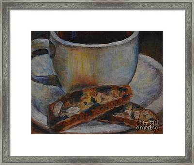 Good Morning Framed Print by Jana Baker