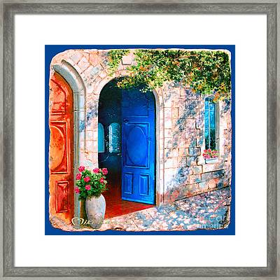 Good Morning Jerusalem Framed Print