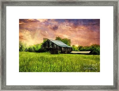 Good Morning Kentucky Framed Print