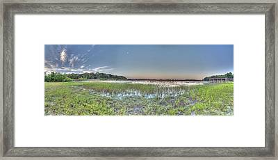 Good Morning Lake Framed Print by Wioletta Pietrzak