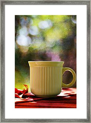 Good Morning Framed Print by Laura Fasulo