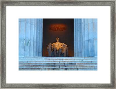 Good Morning Mr. Lincoln Framed Print