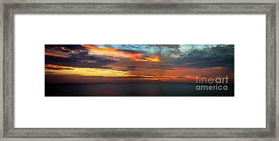 Good Morning Panama Framed Print