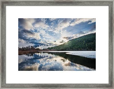 Good Morning Pemberton Framed Print by James Wheeler