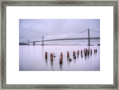Good Morning San Francisco Framed Print by Peter Thoeny