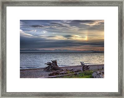 San Pareil Sunrise Framed Print