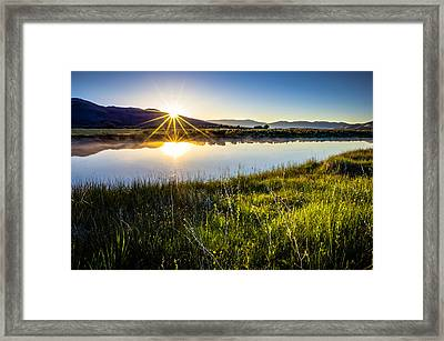 Good Morning Framed Print by Scott McGuire