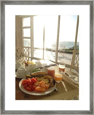Good Morning Framed Print by Selia Hansen