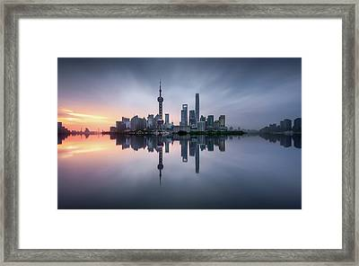 Good Morning Shanghai Framed Print