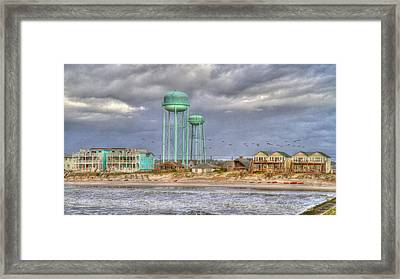 Good Morning Topsail Island Framed Print