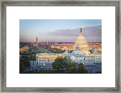 Good Morning Washington Framed Print