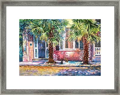 Good Neighbors Framed Print by Alice Grimsley
