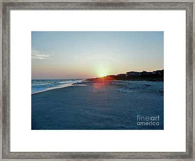 Framed Print featuring the photograph Good Night Day by Roberta Byram