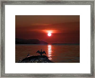 Good-night Framed Print