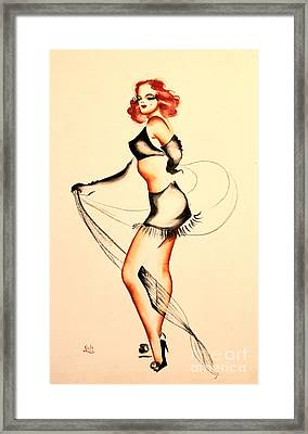Good Night Ladies Dancer Framed Print