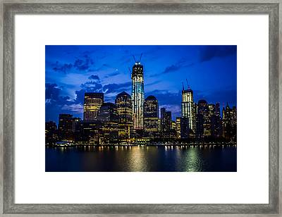 Good Night, New York Framed Print