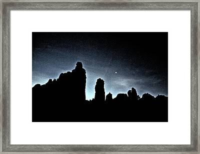 Framed Print featuring the photograph Good Night Snoopy by Tom Kelly