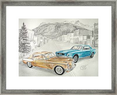 Good 'ol Days Framed Print by Jessica Tookey
