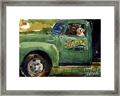 Good Ole Boys Framed Print by Molly Poole