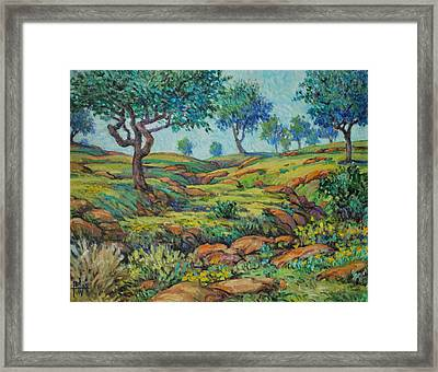 Good Pasture Poor Land For Farming Framed Print by Henry Potwin