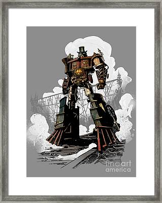 Good Robot Framed Print by Brian Kesinger