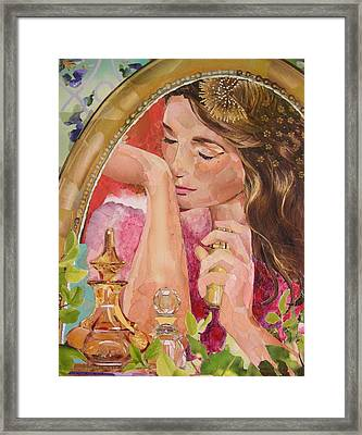 Good Scents Framed Print