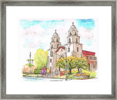Good Shepherd Catholic Church, Beverly Hills, California Framed Print