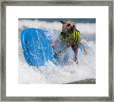 Good Thing I Have This Life Vest Framed Print by Nathan Rupert