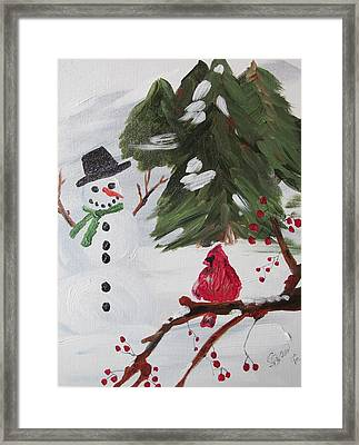 Good Tidings Framed Print
