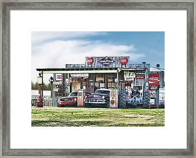 Good Times Not Forgotten Framed Print by Bonnie Willis