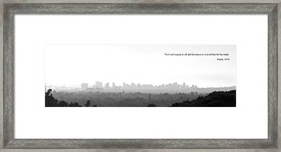 Good To All Framed Print by Andrew Kasten