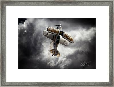 Framed Print featuring the photograph Good Year Cloud by Paul Job