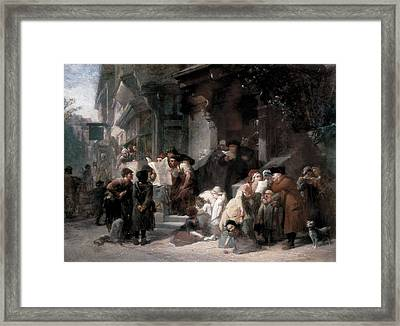 Goodall, Frederick 1822-1904. The Framed Print by Everett