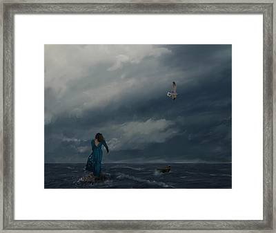 Goodbye Esmeralda Framed Print by Hazel Billingsley