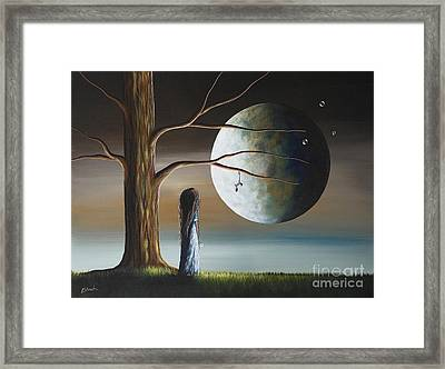 Goodbye Is The Hardest Word By Shawna Erback Framed Print by Shawna Erback