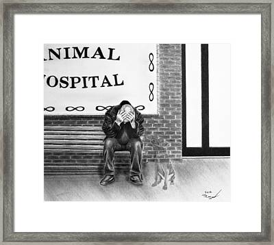 Goodbye My Friend Framed Print by Tim Trojan