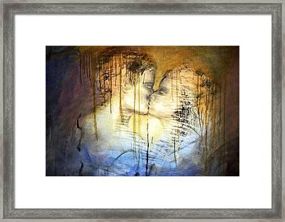 Framed Print featuring the photograph Goodbye Sadness...goodbye by Allen Beilschmidt