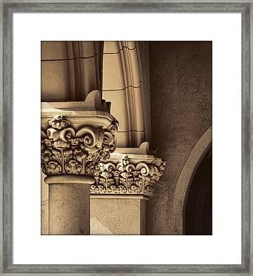 Goodhues Revival Framed Print