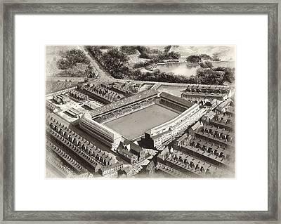 Goodison Park 1955 - Everton Framed Print