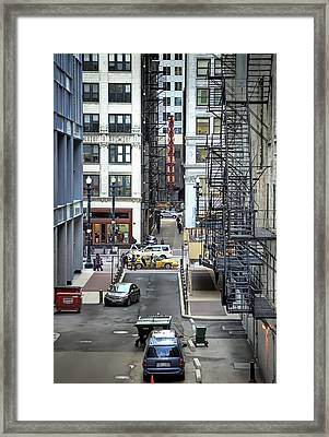 Goodman Chicago Framed Print by Scott Norris