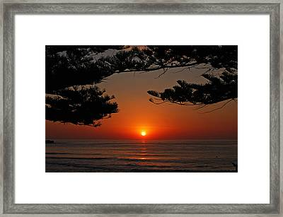 Goodmorning World Framed Print