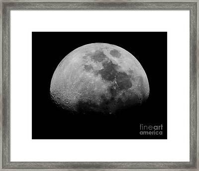 Goodnight Moon Framed Print by Lorena Rivera