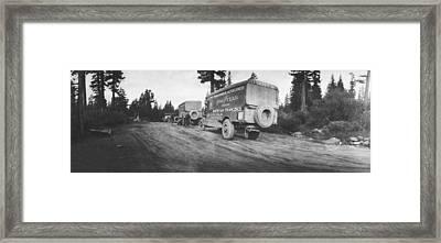 Goodyear Wingfoot Express Framed Print