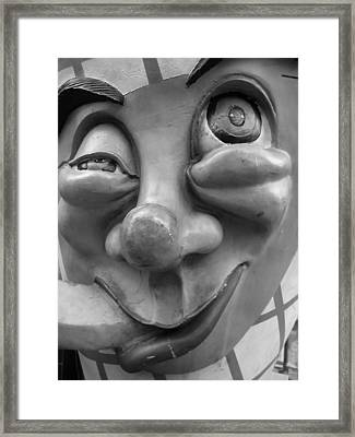 Goof By Darryl Kravitz Framed Print by Darryl  Kravitz